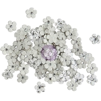 Prima - Planner Flowers - Luna (100 tiny flowers - 0.5