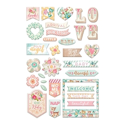 Prima - Heaven Sent (Part 2) Collection - Puffy stickers