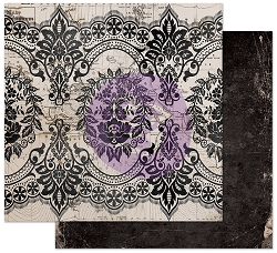 Prima - Midnight Garden Collection - Old Map 12