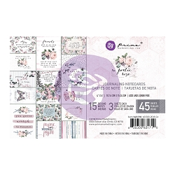 Prima - Poetic Rose Collection - 4x6 Journaling Cards