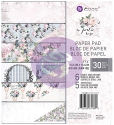 Prima - Poetic Rose Collection - 6x6 Paper Pad