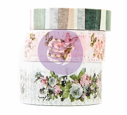 Prima - Poetic Rose Collection - Decorative Tape