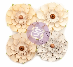 Prima - Pretty Pale Collection Flowers - Neutral Beauty
