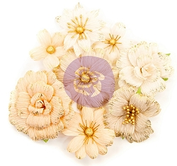 Prima - Pretty Pale Collection Flowers - Honeycomb