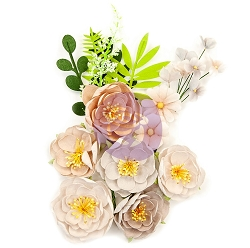 Prima - Pretty Pale Collection Flowers - Arid Land