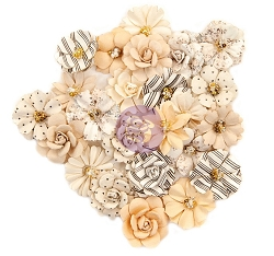 Prima - Pretty Pale Collection Flowers - Flash Beauty
