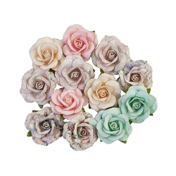 Prima - Sugar Cookie Collection Flowers - Sugar Cookie