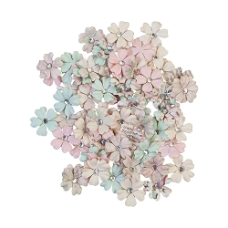 Prima - Sugar Cookie Collection Flowers - White Christmas