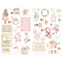 Prima - Sugar Cookie Collection - Chipboard Stickers
