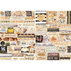 Prima - Amber Moon Collection - Word Stickers