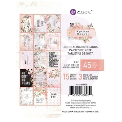 Prima - Apricot Honey Collection - 3x4 Journaling Cards