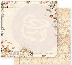 Prima - Autumn Sunset Collection - Falling Leaves 12