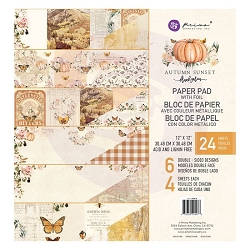 Prima - Autumn Sunset Collection - 12x12 Paper Pad