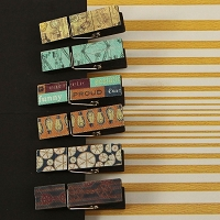 Prima - Craftsman Collection - Canvas Wood Clips