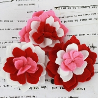 Prima - Poppies & Peonies - Red