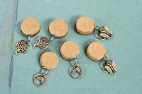 Prima - Romance Novel Collection - Round Wood Trinkets Plain