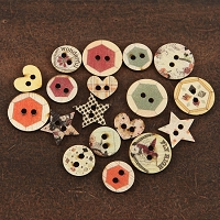 Prima - Rondelle Collection - Wood Buttons