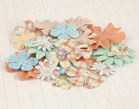 Prima - Delight Collection - Mulberry Paper Flowers
