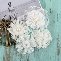 Prima - Sarasota Lace Flowers - Calm