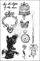 Prima - Epiphany Collection - Cling Rubber Stamp (4