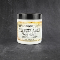Prima - Art Extravagance - Art Basics Texture Paste White Crackle (8.5 oz.)