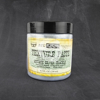 Prima - Art Extravagance - Art Basics Texture Paste Antique Silver Crackle (8.5 oz.)