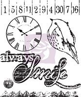 Prima - Lyric Collection - Clear Stamp - Lyric # 1
