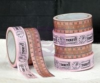 Prima - Washi & Fabric Tape - Lyric  (1 roll each) :)