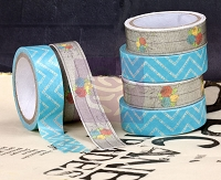 Prima - Washi & Fabric Tape - Lady Bird (1 roll each)