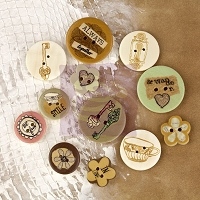 Prima - Wood Buttons - Lifetime