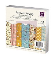 Prima - 6x6 Paper Pad - Forever Young :)