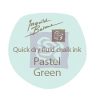 Prima - Fluid Chalk Ink Edger by Ingvild Bolme - Pastel Green