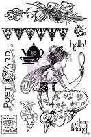Prima - Fairy Rhymes Collection - Cling Stamp set