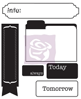 Prima - Engraver Collection - Clear Stamp - Engraver #3