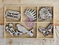 Prima - Princess  Collection - Wood Icons