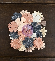 Prima - Cartographer Collection -  Paper Flowers - Passenger