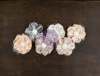 Prima - Cartographer Collection -  Fabric Flowers - Roamer