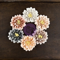 Prima - Cartographer Collection -  Paper Flowers - Navigator :)