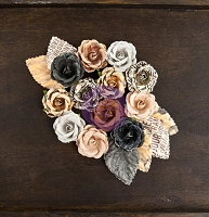 Prima - Cartographer Collection -  Paper Flowers - Globetrotter :)