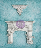Prima - Resin Collection - Cherub Fireplace