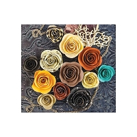 Prima - Timeless Memories Collection - Paper Flowers - Flashback :)