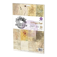 Prima - Timeless Memories Collection - A4 Paper Pad (8.5