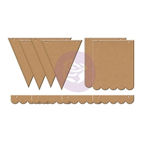 Prima - Chipboard Banners - by Julie Nutting