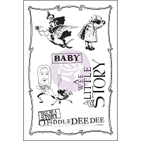 Prima - Bedtime Story Collection - Cling Rubber Stamp