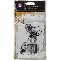 Prima - Cling Rubber Stamps - Mixed Media Romanticism