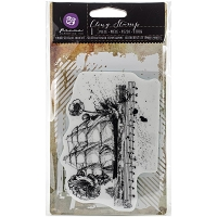 Prima - Cling Rubber Stamps - Mixed Media Nautical