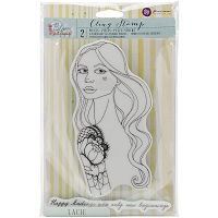 Prima - Cling Mounted Rubber Stamp - by Jamie Dougherty - Bloom Lacie