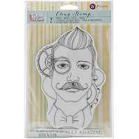 Prima - Cling Mounted Rubber Stamp - by Jamie Dougherty - Bloom Quentin