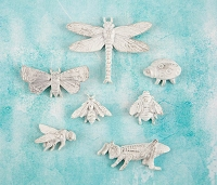 Prima - Shabby Chic Treasures by Ingvild Bolme - Resin Garden Bugs