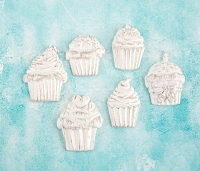 Prima - Shabby Chic Treasures by Ingvild Bolme - Resin Cupcakes